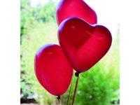 Ballon Forme de Coeur