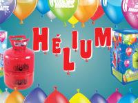 Bonbonnes d'hélium