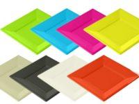 Vaisselles Jetables en couleur